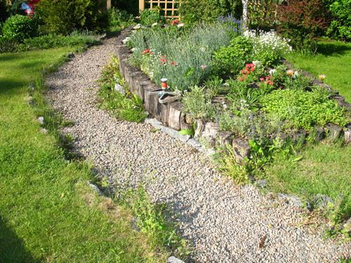 Оформление сада