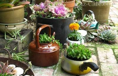 Как украсит цветочные горшки своими руками фото фото 56