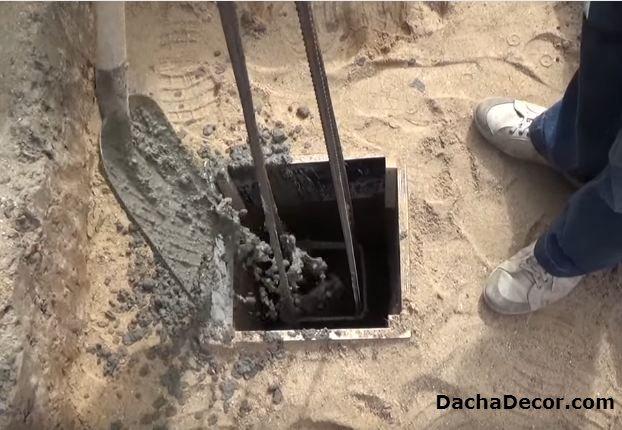 Сваи из бетона своими руками 12