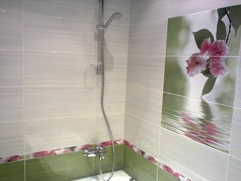 Панно в ванной комнате дизайн