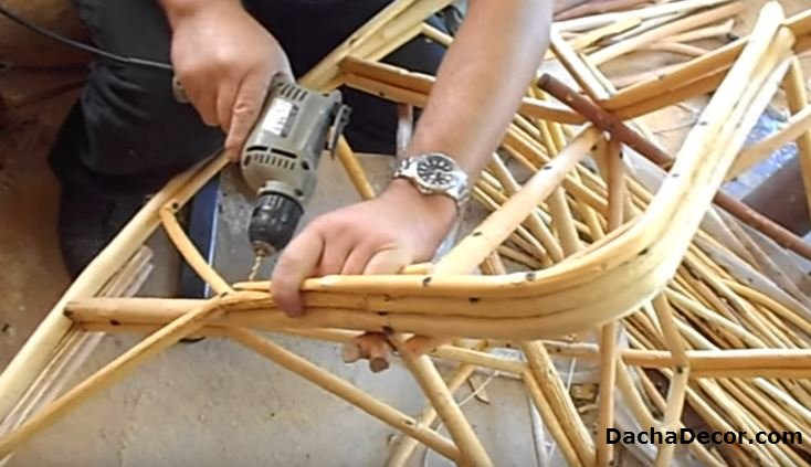 Реставрация плетёной мебели своими руками