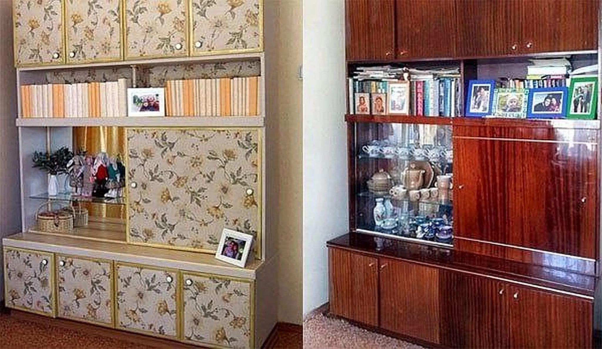 Как преобразить старый шкаф своими руками фото до и после картинки 77